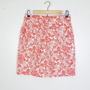 Odille Butterfly Floral Skirt